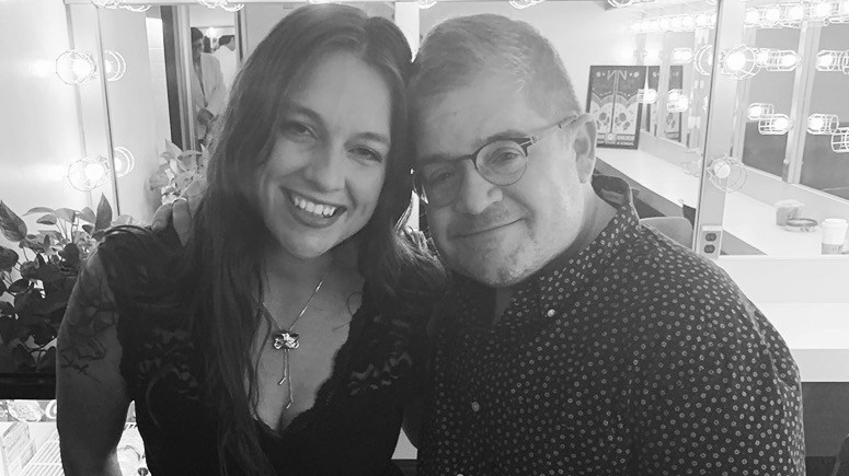 Erica Roman Patton Oswalt widow